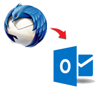 Thunderbird to Windows PST