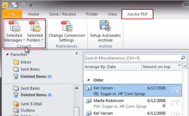 How to Combine Multiple MSG Files into One PDF? Manual v/s