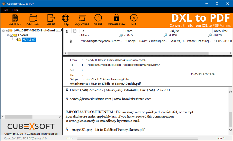 Get Powerful DXL to PDF Converter