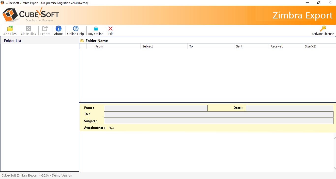 Zimbra Converter - Zimbra TGZ Migration to O365, Exchange