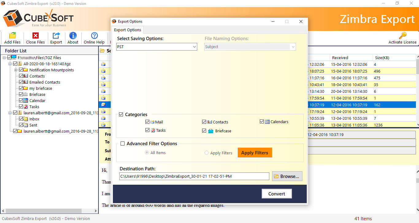 How to Sync Zimbra Email, Contacts & Calendar with Outlook?