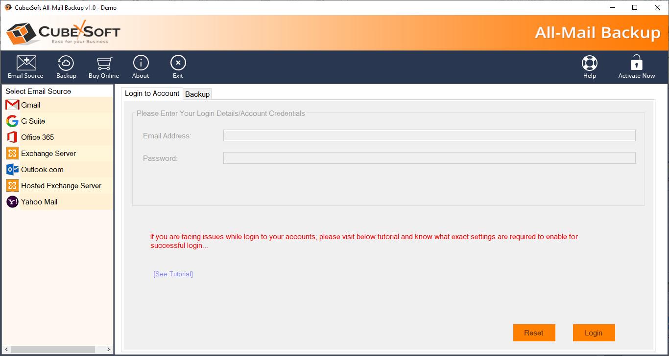 CubexSoft Outlook.com Backup 1.0