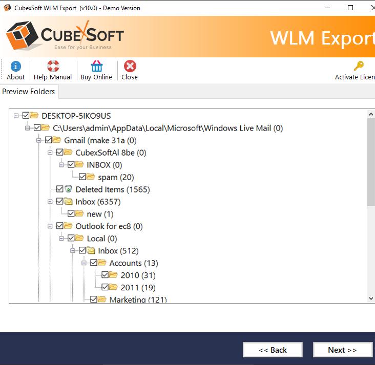 load wlm files