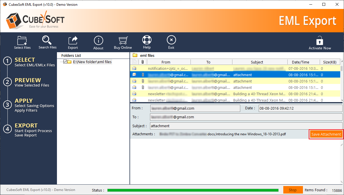 eM Client to Office 365 Tool to Export & Import eM Client to