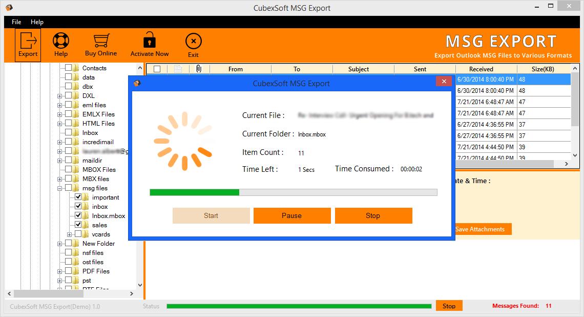CubexSoft MSG to PDF